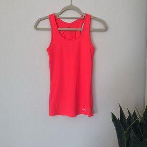 Under Armour Heat Gear Ribbed Workout Tank Top S